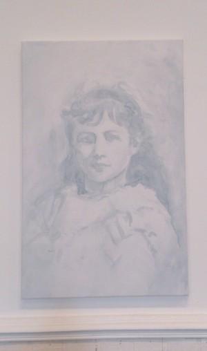 """portrait d'Helen Keller : """" W.A.T.E.R."""""""