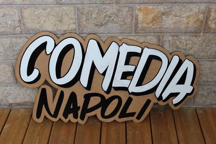 Kevin Berny Comedia Napoli