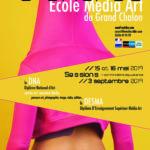 Affiche concours d'entrée école média art