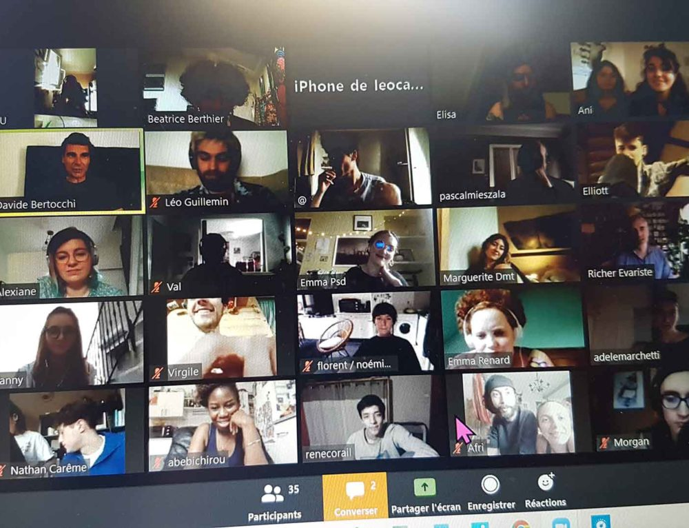 Exposition Virtuelle des étudiants de l'EMA Fructidor
